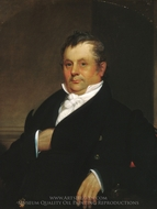 Gideon Tucker painting reproduction, William Sidney Mount