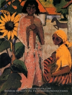 Gipsies with Sunflowers by Otto Mueller