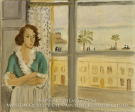 Girl by a Window by Henri Matisse