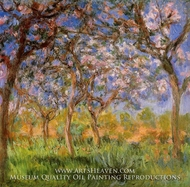 Giverny in Springtime by Claude Monet