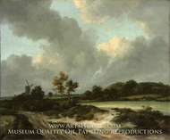 Grainfields by Jacob Van Ruisdael