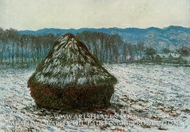 Grainstack by Claude Monet