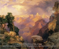 Grand Canyon with Rainbows by Thomas Moran