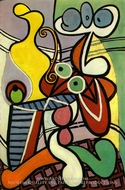 Grande Nature Morte au Gueridon by Pablo Picasso (inspired by)