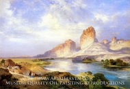 Green River, Wyoming by Thomas Moran