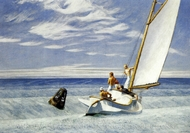 Ground Swell painting reproduction, Edward Hopper