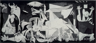 Guernica by Pablo Picasso (inspired by)