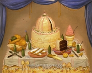 Happy Birthday by Fernando Botero