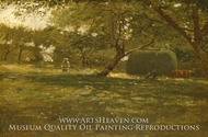 Harvest Scene painting reproduction, Winslow Homer