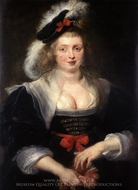 Helena Fourment painting reproduction, Peter Paul Rubens