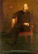 Henry George by George DeForest Brush