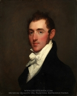Henry Rice painting reproduction, Gilbert Stuart