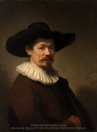 Herman Doomer painting reproduction, Rembrandt Van Rijn