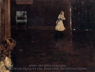 Hide and Seek painting reproduction, William Merritt Chase