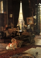 Hide and Seek painting reproduction, James Tissot