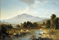 High Point: Shandaken Mountains painting reproduction, Asher Brown Durand