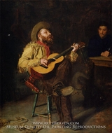 Home Ranch painting reproduction, Thomas Eakins