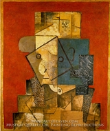 Homme by Pablo Picasso (inspired by)