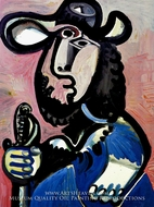 Homme a L'epee by Pablo Picasso (inspired by)