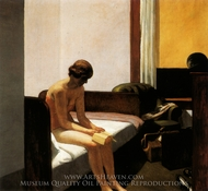 Hotel Room painting reproduction, Edward Hopper