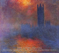 Houses of Parliament, London by Claude Monet