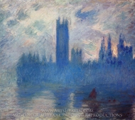 Houses of Parliament, Westminster painting reproduction, Claude Monet