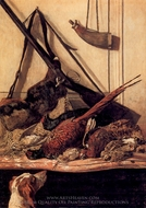 Hunting Trophy painting reproduction, Claude Monet