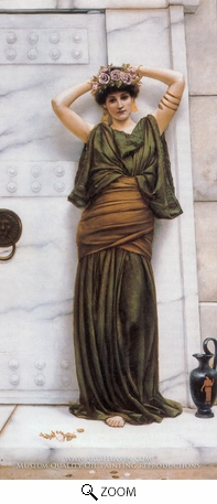 Painting Reproduction of Ianthe, John William Godward