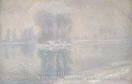 Ice Floes painting reproduction, Claude Monet