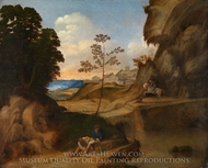 Il Tramonto (The Sunset) painting reproduction, Giorgione
