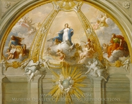 Immaculate Conception painting reproduction, Placido Costanzi