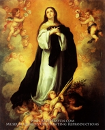 Immaculate Conception by Bartolome Esteban Murillo