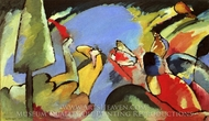 Improvisation 14 painting reproduction, Wassily Kandinsky