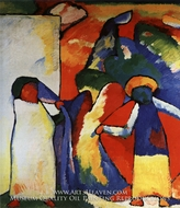 Improvization 6 (African) by Wassily Kandinsky