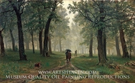In Oak Forest by Ivan Shishkin
