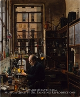 In the Laboratory painting reproduction, Henry Alexander