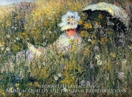 In the Meadow by Claude Monet