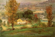 In the Whitewater Valley painting reproduction, John Ottis Adams
