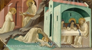 Incidents in the Life of Saint Benedict painting reproduction, Lorenzo Monaco