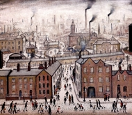 Industrial Landscape by Laurence Stephen Lowry