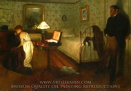 Interior painting reproduction, Edgar Degas