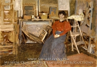 Interior painting reproduction, Edouard Vuillard