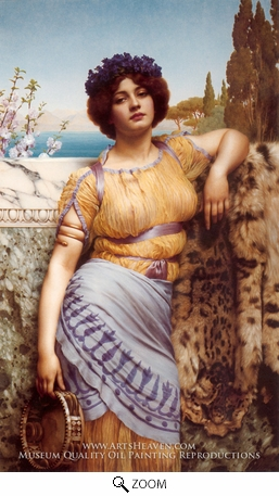 Painting Reproduction of Ionian Dancing Girl, John William Godward