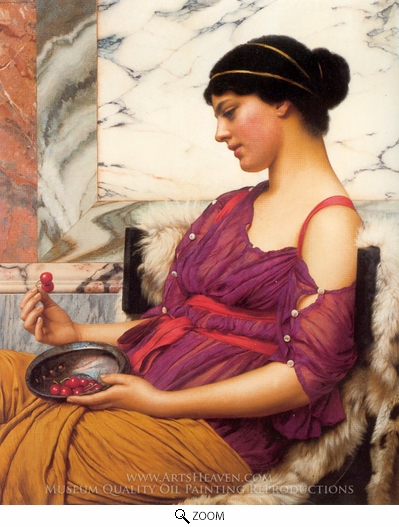 Painting Reproduction of Ismenia, John William Godward