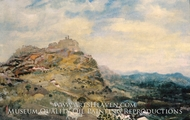 Italian Hill Town painting reproduction, Arthur Bowen Davies