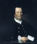 Jacob Hurd painting reproduction, William Johnston
