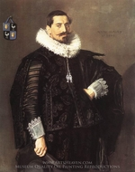 Jacob Pietersz Olycan painting reproduction, Frans Hals