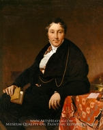 Jacques-Louis Leblanc by Jean Auguste Dominique Ingres