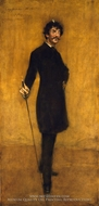 James Abbott McNeill Whistler by William Merritt Chase