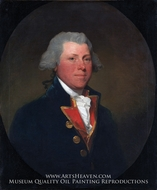 James DeLancey painting reproduction, Gilbert Stuart